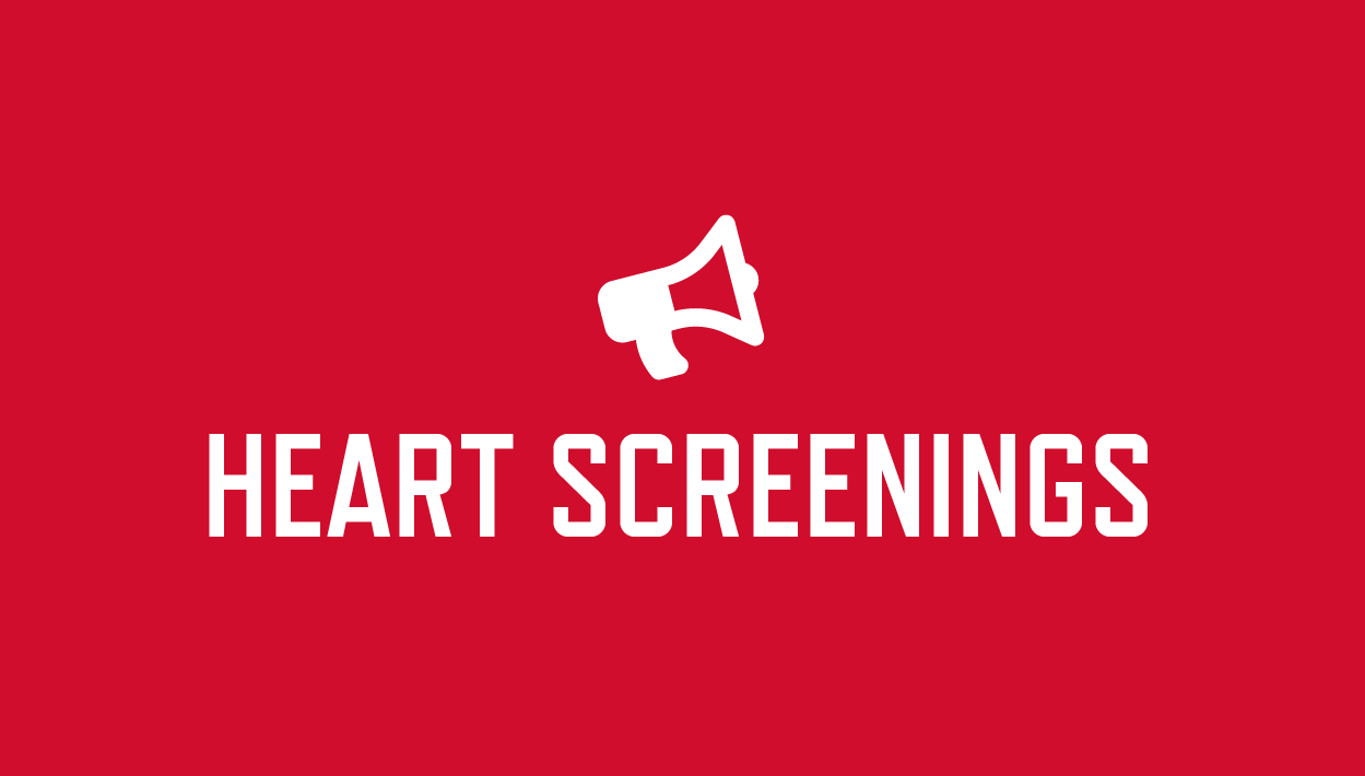 Free heart screening announcement