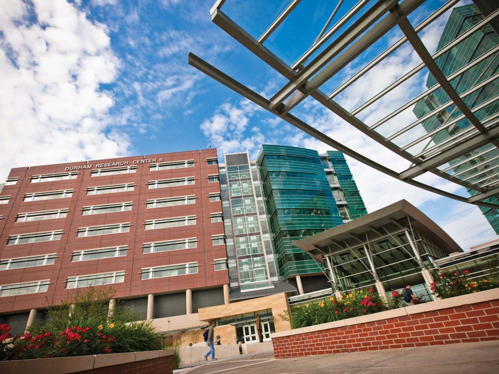 University of Nebraska Medical Center campus building
