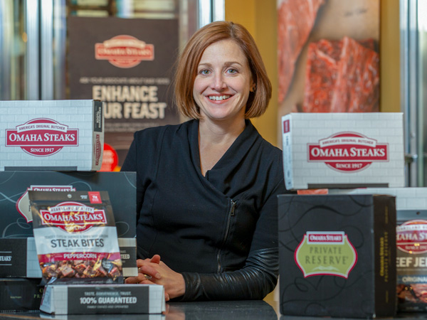 Lyndsey Hansen from Omaha Steaks