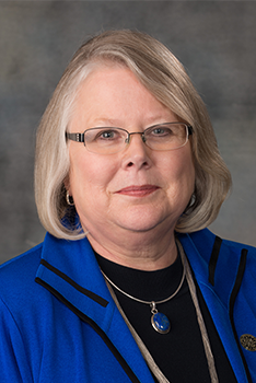 Executive Vice President and Provost Susan Fritz